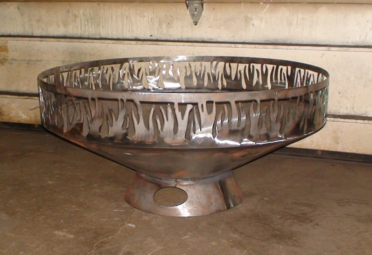 CNC Metal Cut Firepit Ring Custom-made.