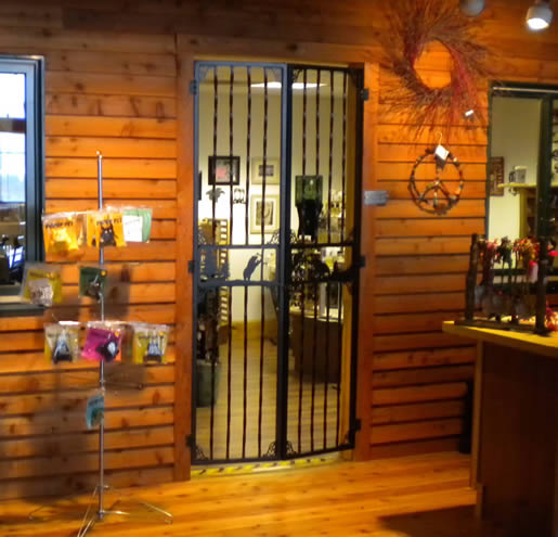 The Three Bears Lodge in Warrens, Wisconsin, had these custom doors made for the Wholesale and Retail Shop Store.
